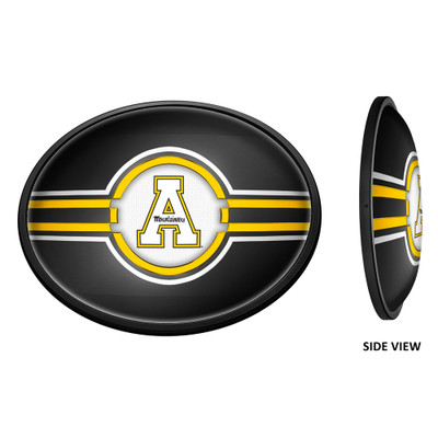 Appalachian State Mountaineers Slimline Illuminated LED Team Spirit Wall Sign-Oval| Grimm Industries |AP-140-01