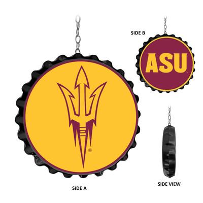 Arizona State Sun Devils Team Spirit Bottle Cap Dangler | Grimm Industries |AS-220-01