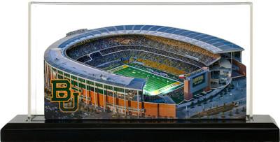 Baylor University Bears McLane Stadium 3-D Stadium Replica Homefields  2000153D