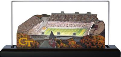 Georgia Tech Yellow Jackets Bobby Dodd 3-D Stadium Replica|Homefields |2000463D