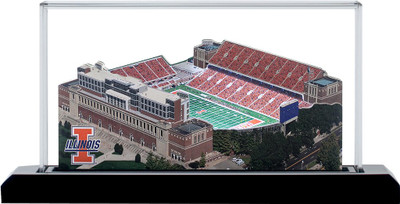 Illinois Fighting Illini Memorial 3-D Stadium Replica|Homefields |2000501S