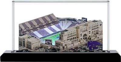 Kansas State Wildcats Snyder Family Football 3-D Stadium Replica Homefields  2001503D
