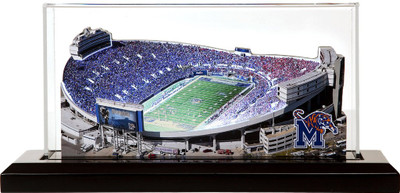 Memphis Tigers Liberty Bowl Memorial 3-D Stadium Replica|Homefields |2001622D