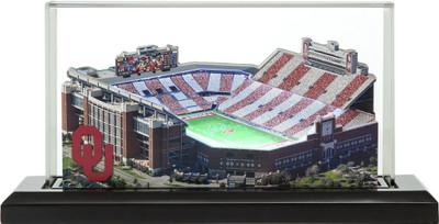 Oklahoma Sooners Oklahoma Gaylord Family Memorial 3-D Stadium Replica|Homefields |2000893D