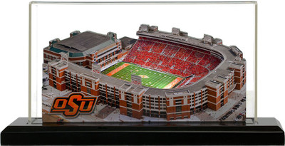 Oklahoma State Cowboys Boone Pickens 3-D Stadium Replica|Homefields |2000902D