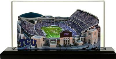 TCU Horned Frogs Amon G. Carter 3-D Stadium Replica|Homefields |2001113D