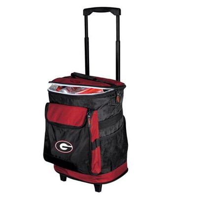 Georgia Bulldogs Rolling Cooler | Logo Chair | 142-57
