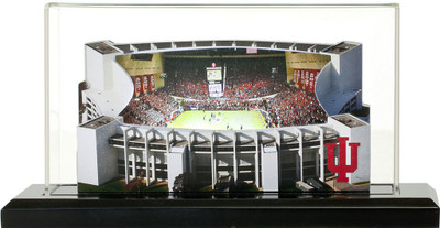Indiana Hoosiers Assembly Hall 3-D Replica|Homefields |4000512D