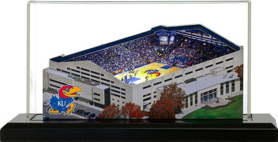 Kansas Jayhawks Allen Fieldhouse 3-D Replica|Homefields |4001322D