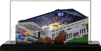Kansas Jayhawks Allen Fieldhouse 3-D Replica|Homefields |4001323D