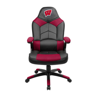 Wisconsin Badgers Oversize Gaming Chair | Imperial | 334-3013