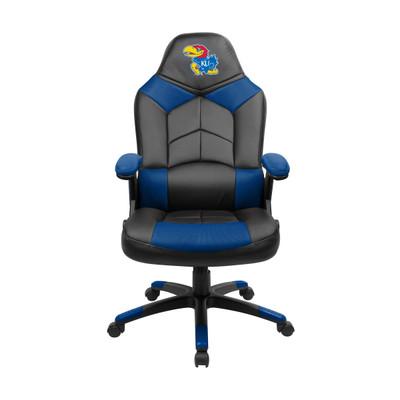 Kansas Jayhawks Oversize Gaming Chair   Imperial   334-3020
