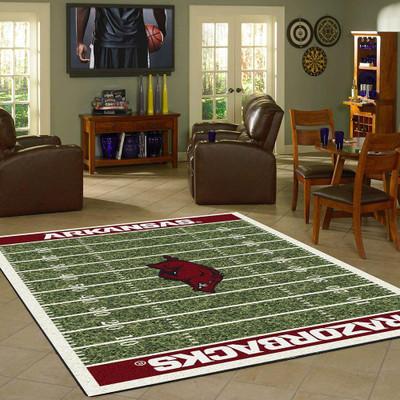 Arkansas Razorbacks Football Field Rug | Imperial | 524-3022