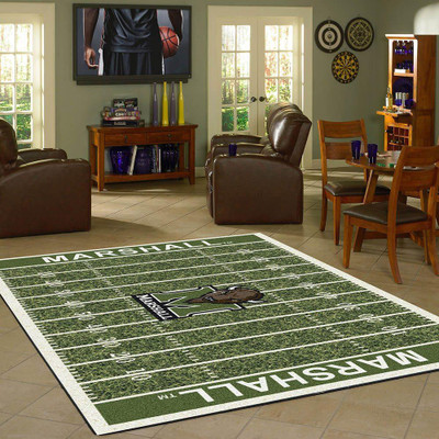 Marshall Thundering Herd Football Field Rug | Milliken | 4000054634