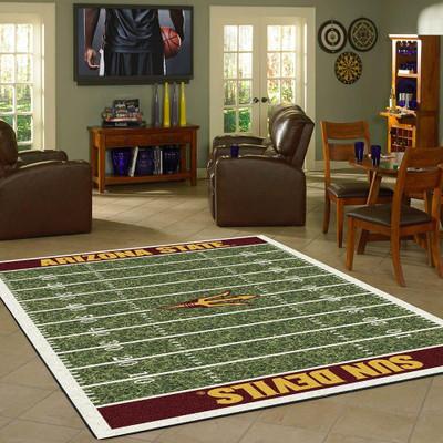 Arizona State Sun Devils Football Field Rug   Milliken   4000054613