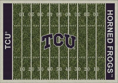 TCU Horned Frogs Football Field Rug | Milliken | 4000054665