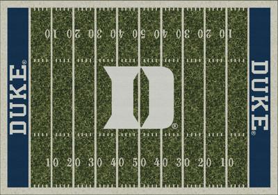 Duke Blue Devils Football Field Rug | Milliken | MIL4000054677