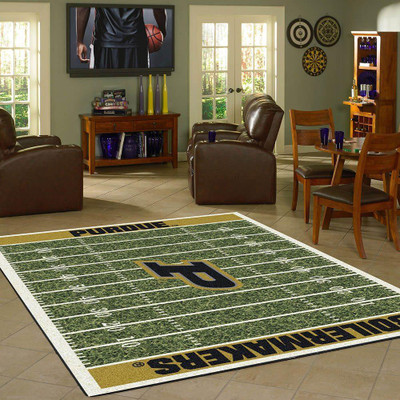 Purdue Boilermakers Football Field Rug | Milliken | 4000054653