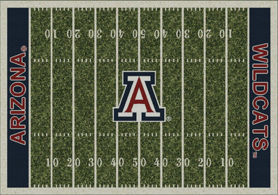 Arizona Wildcats Football Field Rug | Milliken | 4000054612