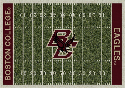Boston College Eagles Football Field Rug | Milliken | 4000054616