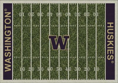 Washington Huskies Football Field Rug | Milliken | 4000054671