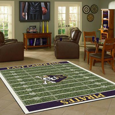 East Carolina Panthers Football Field Rug   Milliken   MIL4000054623