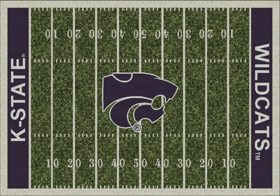Kansas State Wildcats Football Field Rug | Milliken | 4000053793