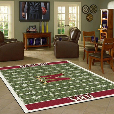 Maryland Terrapins Football Field Rug | Milliken | 4000054636