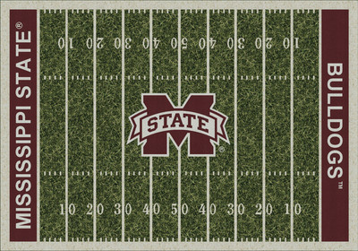 Mississippi State Bulldogs Football Field Rug | Milliken | 4000054641