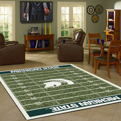Michigan State Spartans Football Field Rug | Imperial | 520-3016