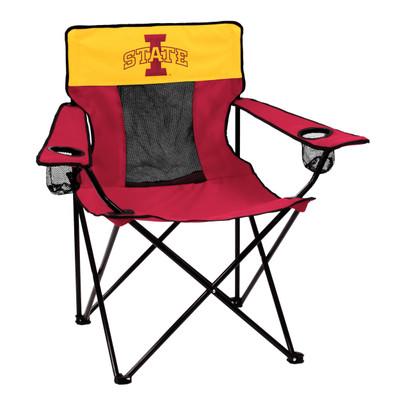 Iowa State Cyclones Elite Tailgate Chair | Logo Chair | 156-12E