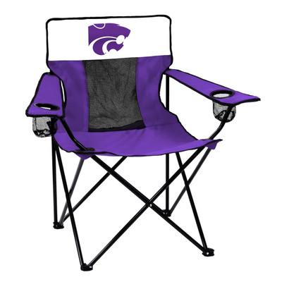 Kansas State Wildcats Elite Tailgate Chair | Logo Chair | 158-12E