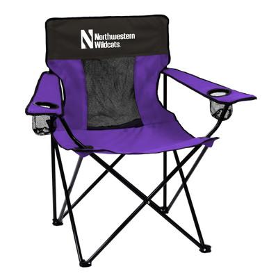 Northwestern Wildcats Elite Tailgate Chair | Logo Chair | 172-12E