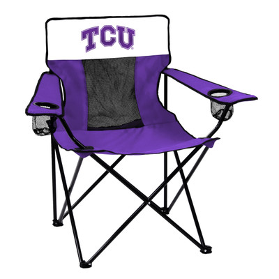 TCU Horned Frogs Elite Tailgate Chair | Logo Chair | 215-12E