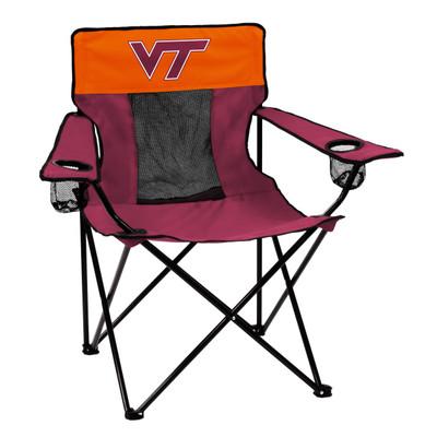 Virginia Tech Hokies Elite Tailgate Chair | Logo Chair | 235-12E