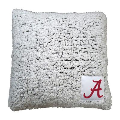 Alabama Crimson Tide Frosty Fleece Throw Pillow | Logo Chair | 102-812
