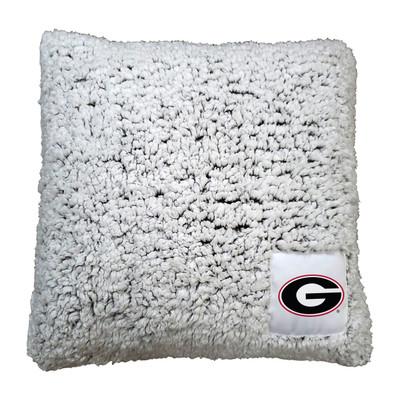 Georgia Bulldogs Frosty Fleece Throw Pillow   Logo Chair   142-812