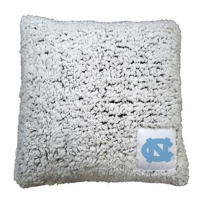 UNC Tar Heels Frosty Fleece Throw Pillow   Logo Chair   185-812