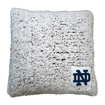 Notre Dame Fighting Irish Frosty Fleece Throw Pillow | Logo Chair | 190-812