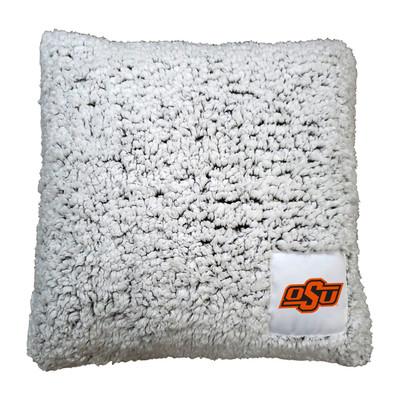 Oklahoma State Cowboys Frosty Fleece Throw Pillow   Logo Chair   193-812