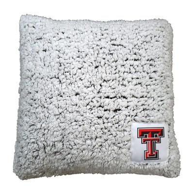 Texas Tech Red Raiders Frosty Fleece Throw Pillow | Logo Chair | 220-812