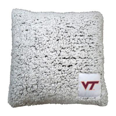 Virginia Tech Hokies Frosty Fleece Throw Pillow | Logo Chair | 235-812