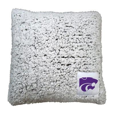Kansas State Wildcats Frosty Fleece Throw Pillow | Logo Chair | 158-812