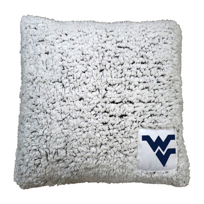 West Virginia Mountaineers Frosty Throw Pillow  Logo Chair   239-812