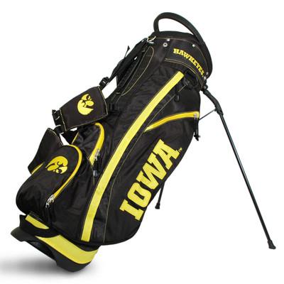 Iowa Hawkeyes Fairway Golf Stand Bag  Team Golf  21528