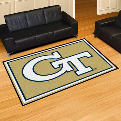Georgia Tech Yellow Jackets Area Rug 5' x 8' | Fanmats | 6989