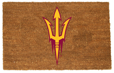 Arizona State Sun Devils Logo Door Mat | Memory Company | COL-AZS-1689
