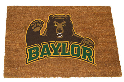 Baylor Bears Logo Door Mat | Memory Company |COL-BAY-1689