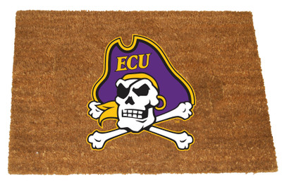 East Carolina Pirates Logo Door Mat | Memory Company | ECU-1689