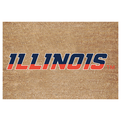 Illinois Fighting Illini Logo Door Mat | Memory Company | ILL-1689